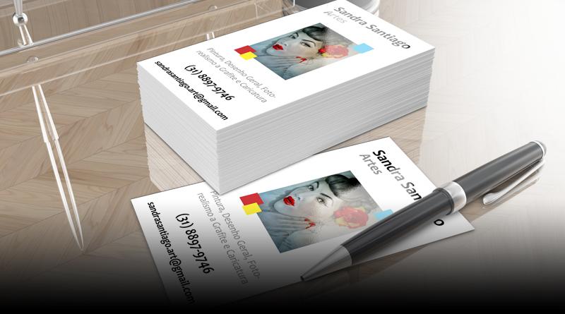 Cartão de Visitas - Sandra Santiago