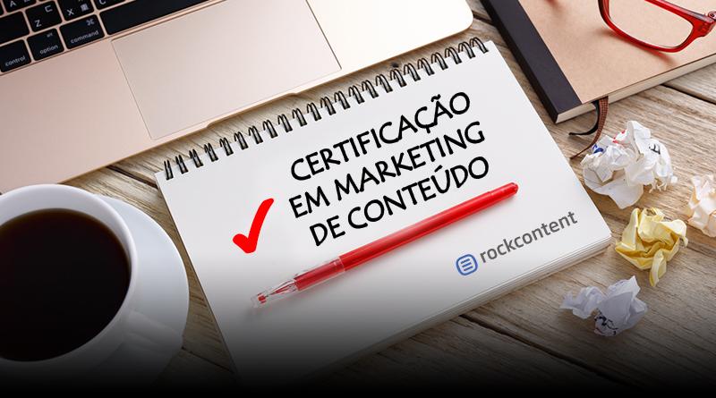 Certificação em Marketing de Conteúdo - Rock Content