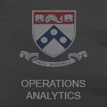 Em curso Operations Analytics - The Wharton On-line (University of Pennsylvania)